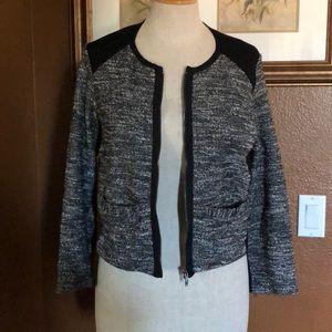 Eileen Fisher zippered blazer